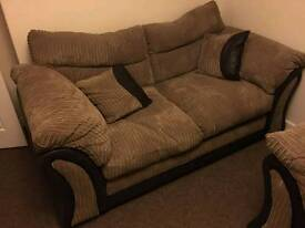 Over sized 2 seater and 3 seater