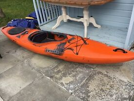 Pyranha fusion kayak large