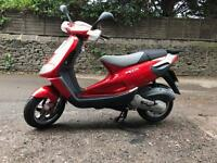 Piaggio skipper 125 2 stroke mint condition very rare scooter full 12 months mot