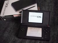 Nintendo DS Lite, Black and Red perfect condition.