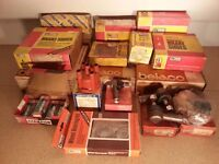 CLASSIC CAR UNUSED BOXED SPARES FROM THE 70's & 80's - JOB LOT, IDEAL FOR AUTO-JUMBLE TRADER etc.
