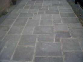 40 square meters of charcoal paving delivered anywhere in Northern Ireland