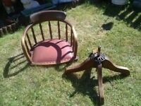 CAPTAINS SWIVEL CHAIR - Spares/Repair