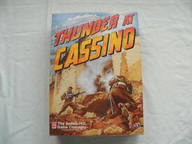 Avalon hill war game.Thunder at Cassino