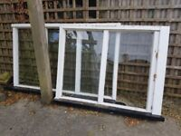 2 windows from a porch – free for collection