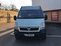 Vauxhall Movano 3500 CDTI LWB 2008 for sale