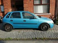 2002 Vauxhall corsa 1.7 DI diesel 134k