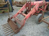 Massey Ferguson loader. Works well. to fit massey 65