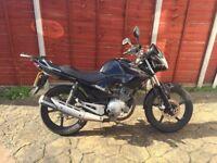 Yamaha YBR125, 2014, black, good condition