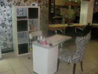 Nail Technician required self employed basis