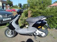 2006 Piaggio ZIP 50 scooter, new 1 year MOT, 4 stroke engine, very good condition, bargain, learner,
