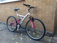 Adults Dual Suspension Mountain Bike in Good Condition