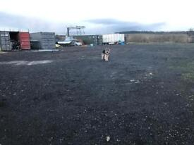 Yard space to let (Airdrie area)