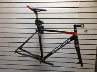 Boardman CX Team Cyclocross Frameset + Stem/Handlebar/Seat/Post/Crank/Chainring