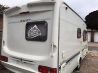 Swift 480 se 2004 luxury caravan