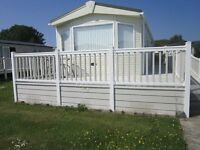 PEMBERTON SOVEREIGN 2010 CARAVAN 37FT X 12FT ROSNEATH CASTLE PARK ARGYLL NEAR HELENSBURGH