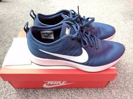 Men's Nike Dualtone Racer Blue Trainers - Navy and White - Size 8