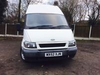 ***MINT FORD TRANSIT **52plate high top **genuine mileage 110***