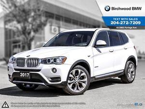 2017 BMW X3 xDrive28i Premium Package Essential! Navigation! R