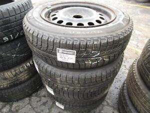 175/65R15 SET OF 4 USED MICHELIN SNOW TIRES