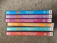 Fairy tale DVDs