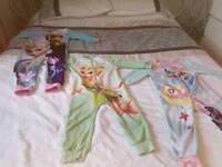 Girls bed onesies pyjamas