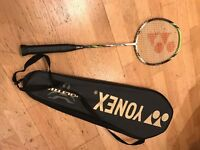 Brand new Yonex Voltric 5 Badminton Racquet and case