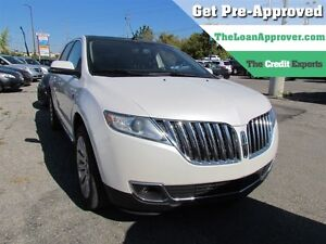 2012 Lincoln MKX AWD | LEATHER | NAV | DVD | CAM | ROOF