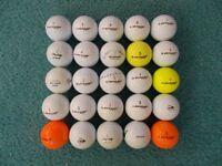 25 x DUNLOP Golf Balls - Grade A/B condition