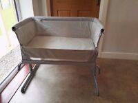 Chicco Next2me Side Sleeping Crib (Silver