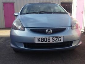 2006 HONDA JAZZ 1.4 MANUAL PETROL 5 DOOR MOT 30/3/18 £1499 NO VAT