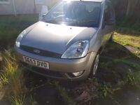 Ford fiesta 1.4 for sale, may swap for 85cc crosser