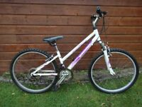 Tallahassee Barrosa Ladies city bike, 26 inch wheels, 18 gears, 14 inch lightweight aluminium frame