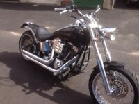 Custom Harley Davidson FXSTD **MUST SEE** **RARE TO SEE IN THIS CONDITION**