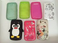 Blackberry Bold 9780. ALL 7 CASES FOR JUST £8!!