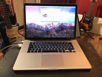 MacBook Pro - Mid 2015, 2.5GHz quad core i7, 16GB ram.