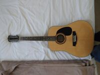 Redwood 12 string Acoustic Guitar