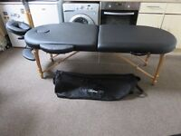 Fully accessorized professional portable Massage Table