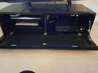 Gloss back tv cabinet