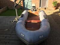 Avon 2.8m dinghy with 6hp outboard