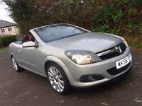 2006 VAUXHALL ASTRA TWINTOP CONVERTIBLE SPORTS 'DESIGN' 65,000 MILES NEW MOT