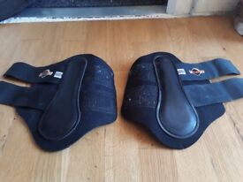 Eclispe Black Pony Boots