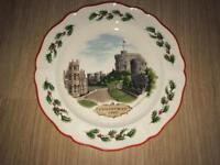 Windsor castle plate