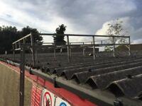 Land Rover defender galvanised roof rack and ladder