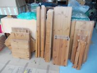 Assortment of pine wood never used £2 each