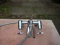 bath tap and shower vintage