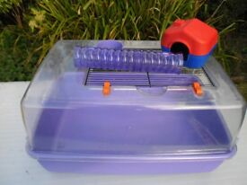 Plastic Dune Tank Suitable To House a Dwarf Hamster or Mouse.