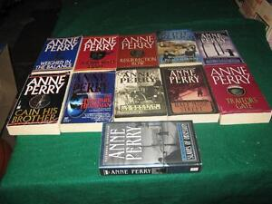Anne Perry books $1 each or $10 for the lot St. John's Newfoundland image 1