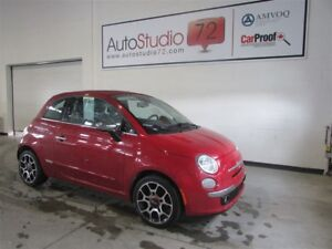 2012 Fiat 500C Lounge **CUIR**MAGS**FINANCEMENT 100%**