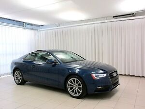 2014 Audi A5 PROGRESSIV 2.0T QUATTRO COUPE w/ NAV, LEATHER & MO